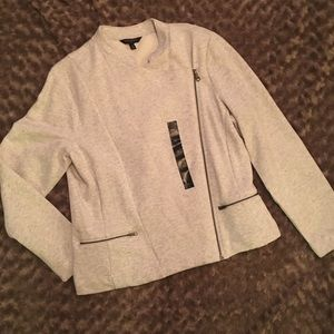 NWT Banana Republic Factory moto sweatshirt